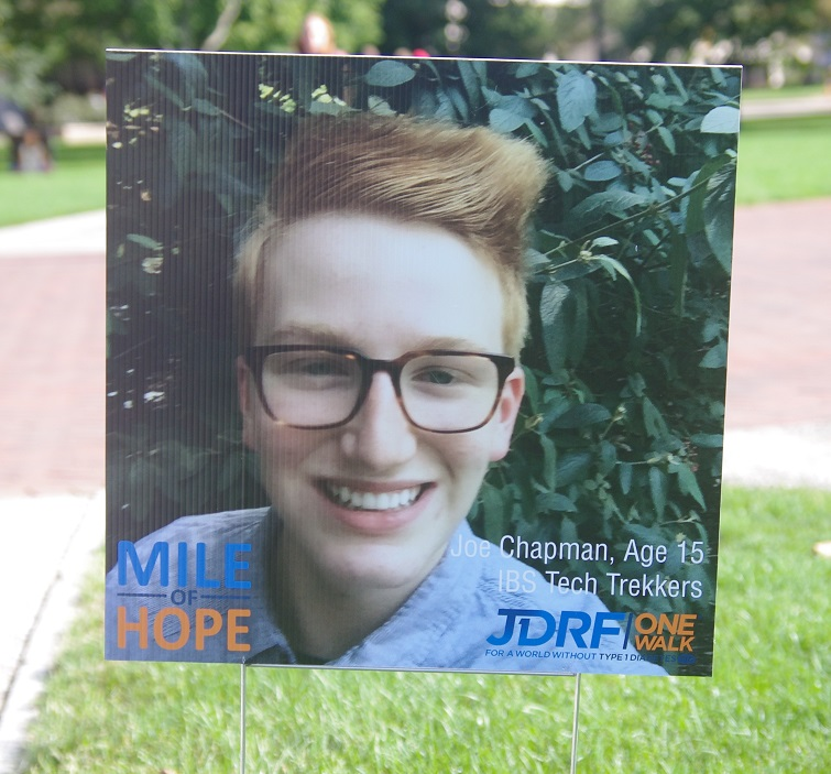 JDRF Mile of Hope 2015