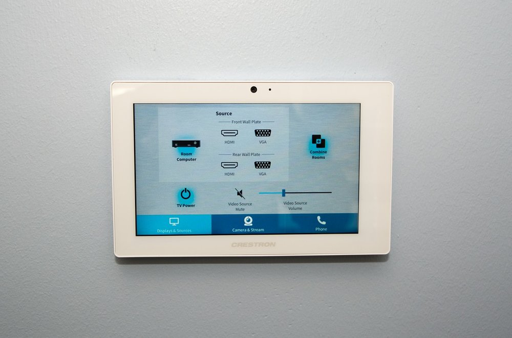 touch-screen controls