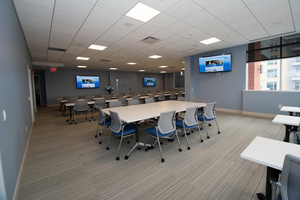 training room at KKG