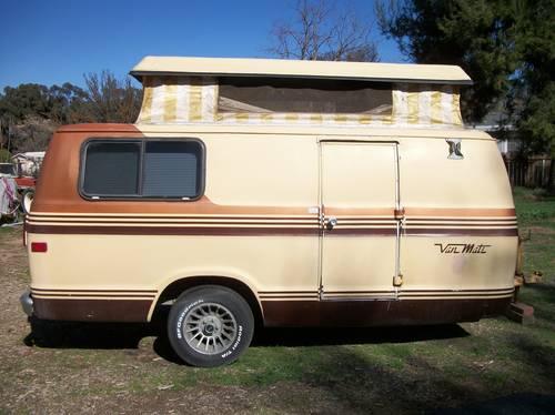 1978 Van Mate trailer