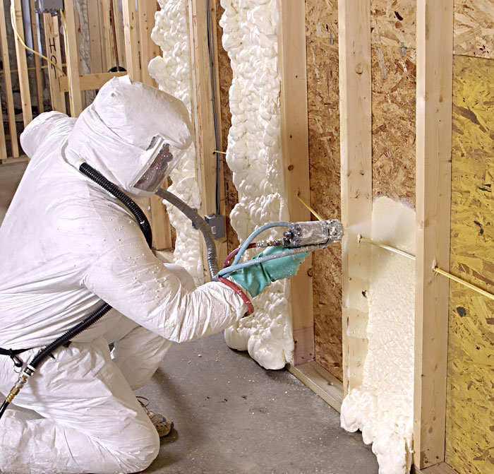 Soy based insulation