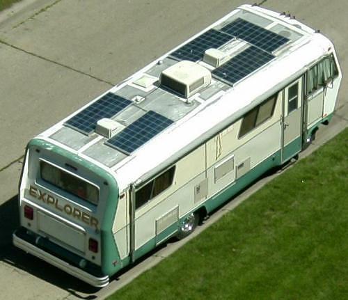Solar Class A RV