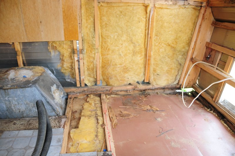 Before + After: Replacing Rotten Framing in a Vintage Camper