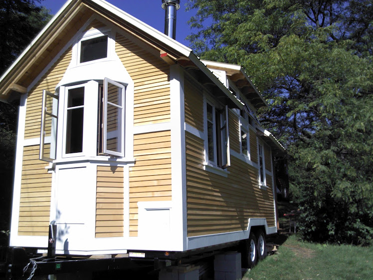 Sensational Tiny House Tour The Second Wall Goes Up Comet Camper Largest Home Design Picture Inspirations Pitcheantrous