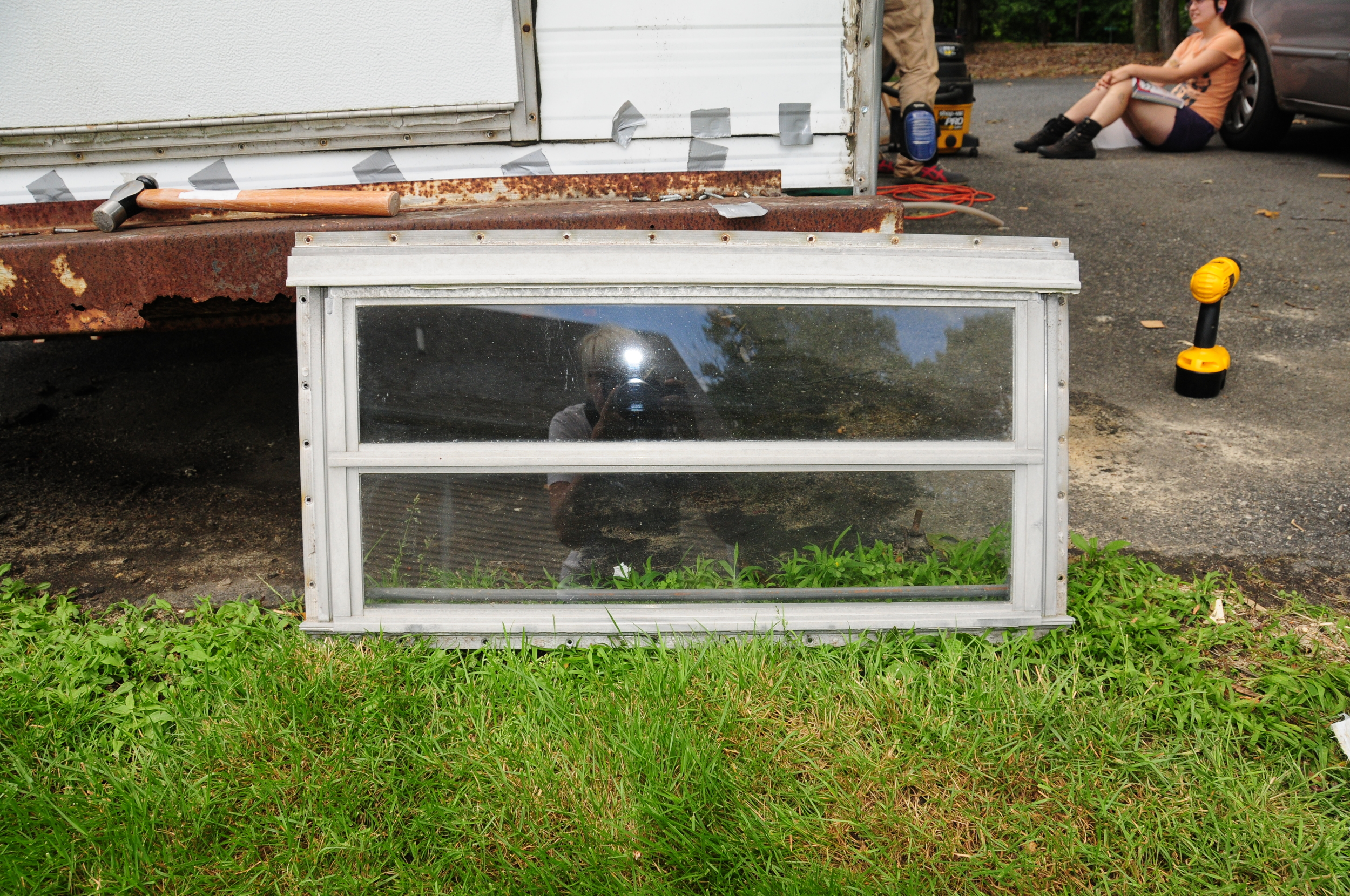 Used Campers For Sale Near Me >> Replacing a Window in a Vintage Trailer: Thank You ...