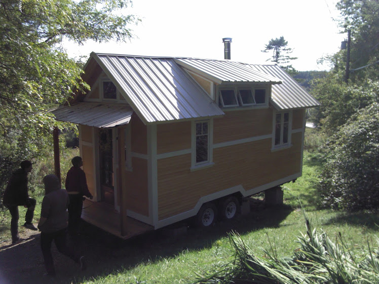 Another tiny house built by Yestermorrow students!