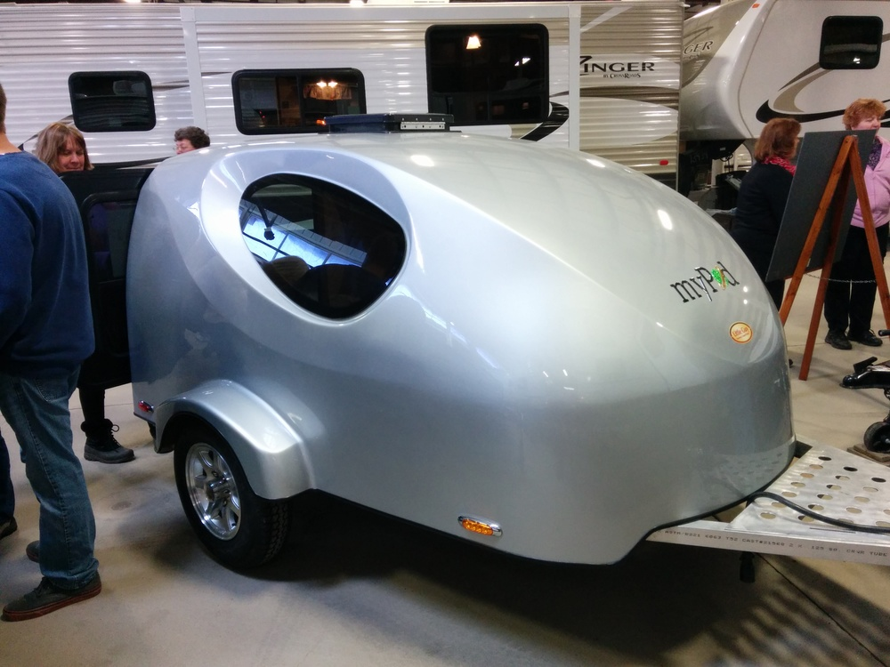 The little MyPod teardrop camper - how much do you really need?