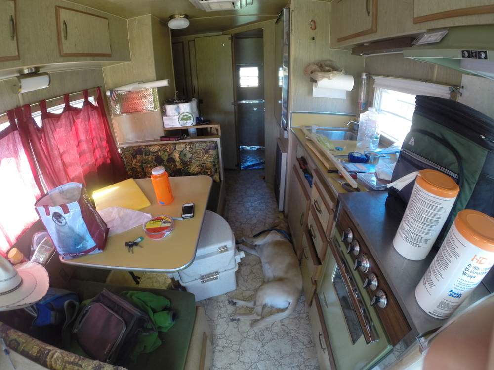 This Couple is Living in a Vintage Trailer While They Build a Tiny on looking for a trailer, living off the grid trailer, smallest bath with camping trailer, circle c horse trailer, trinity live floor trailer, flatbed with camper trailer, living in a van, upgraded 1985 travel trailer, living in a ship, living in a dugout, living in a volkswagen, living in caravan, living in a fiat, living in a apartment, beautiful living quarters horse trailer, living in a bus, live floor dump trailer, two-story cattle trailer, living in a ford, living in a building,
