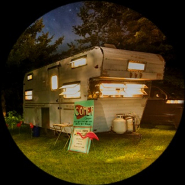 Missing my little home while we are in RI working on a big project 😊🚎🚐🚀🐚🐳🐋 #cometcamper #vintagecamper #vintagetrailers #vintagetrailer #vintage #campers #trailer #travel #projects #camper #comet #tinyhome #onwheels #mobile #trailernottrash