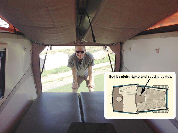 Life In A 70 Sq Ft Pop Up Camper The Cricket Cometcamper
