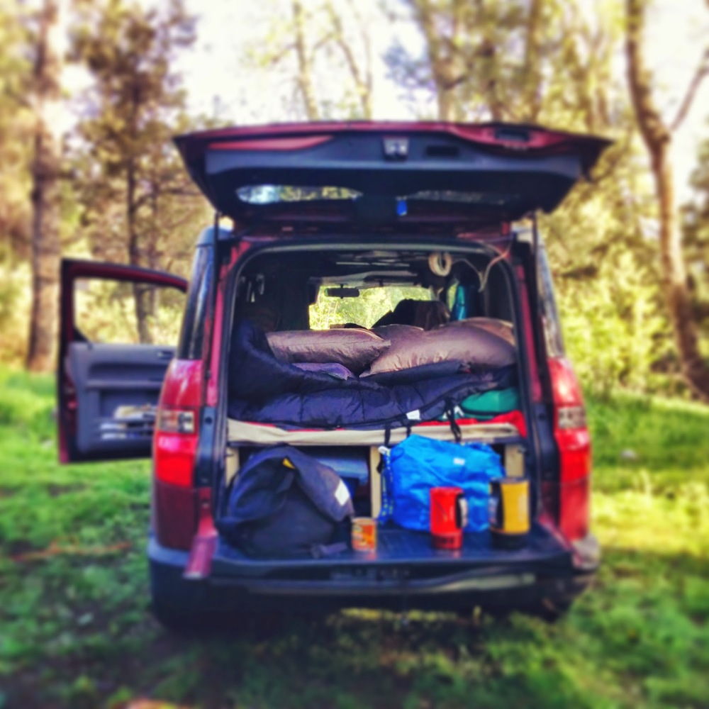 Honda Element Camper >> How to Stay Warm in Winter When You Live in a Van or Trailer (plus: alternatives for toughing ...