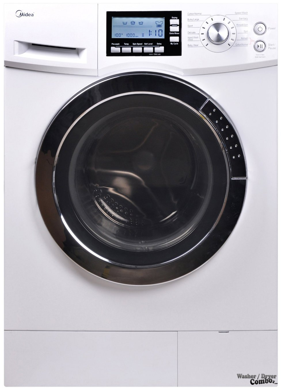 Washer and dryer in one! Image from www.washerdryercomboz.com