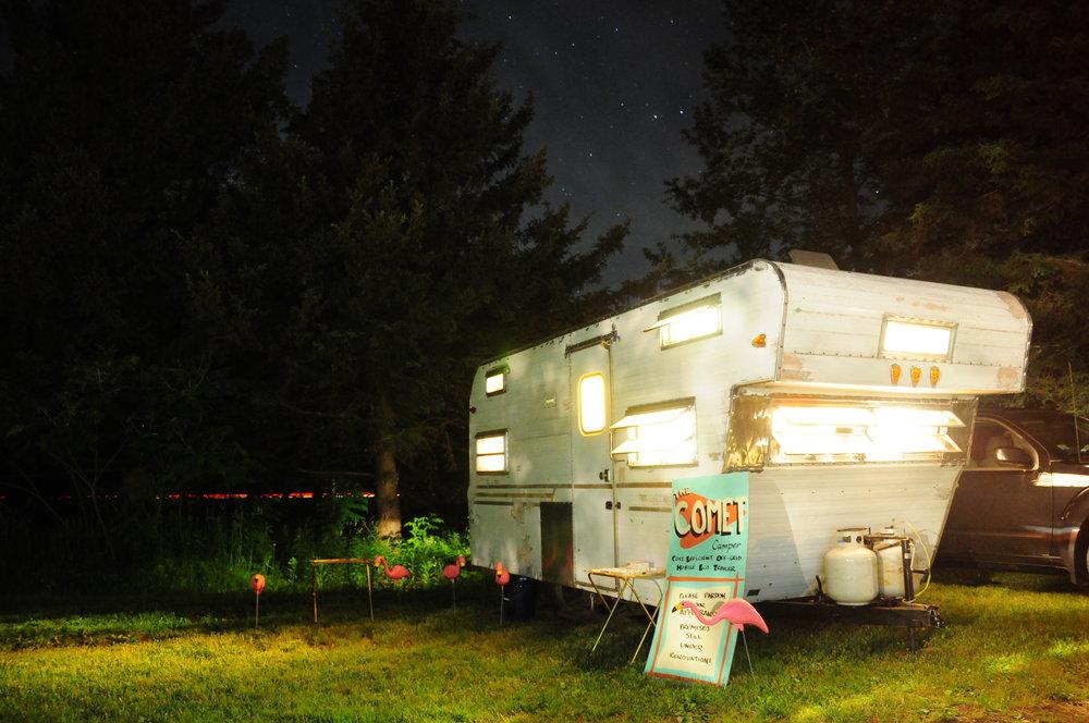 comet camper project