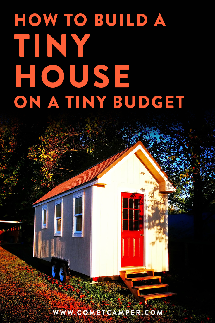 tiny house on a tiny budget