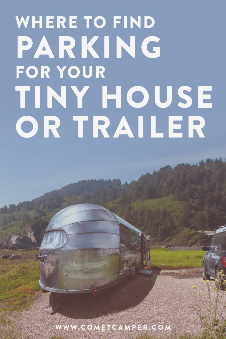 tiny house trailer parking