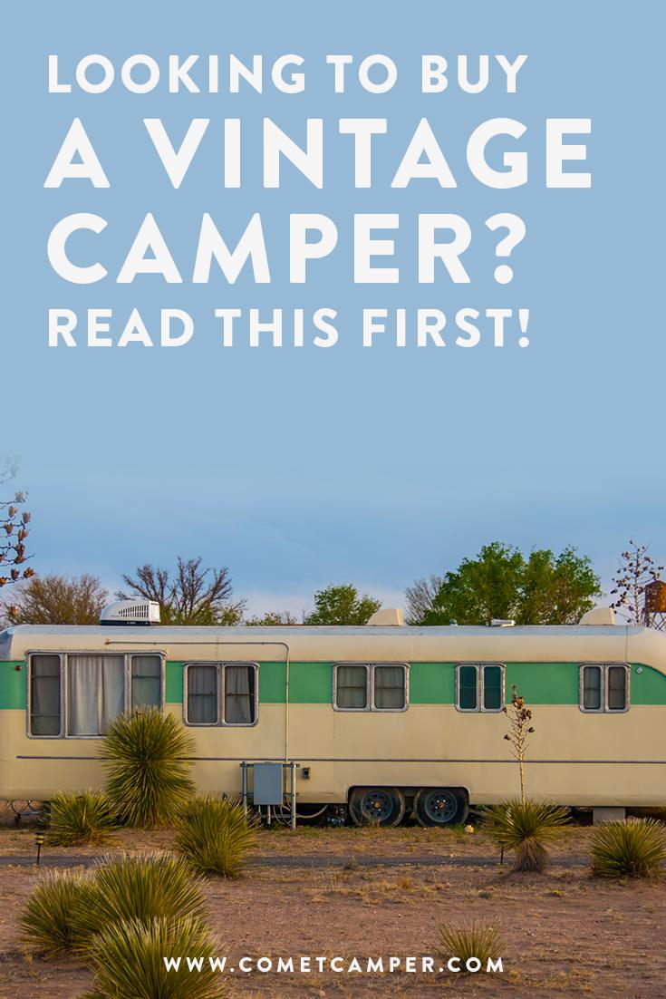 buying a vintage camper