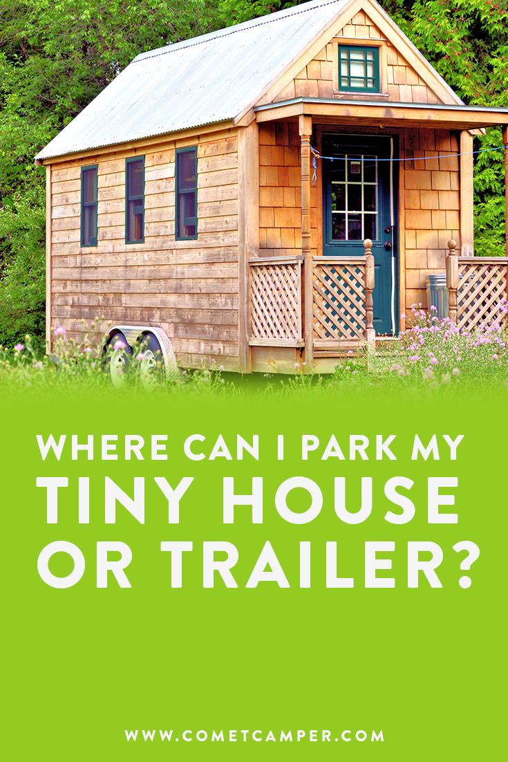 where to park tiny house