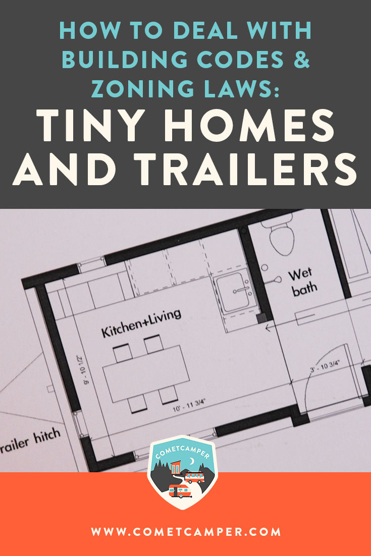 HOW TO DEAL WITH BUILDING CODES AND ZONING LAWS: TINY HOMES AND TRAILERS