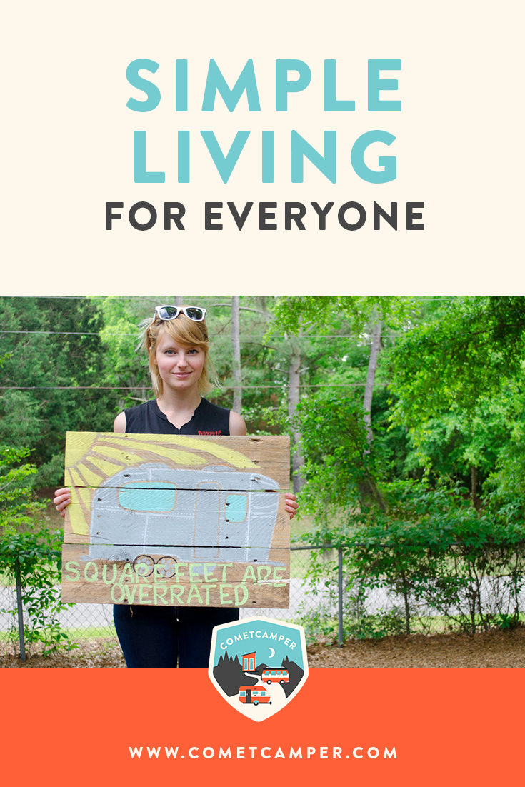 Living simply is not a fad, it's a necessity. Here's how you can live simply and minimally no matter how many square feet you have to live in. Living simply is not a fad, it's a necessity. Here's how you can live simply and minimally no matter how many square feet you have to live in.