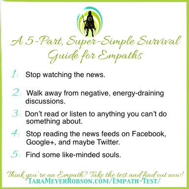 Tips for empaths