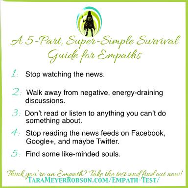 Tips for empaths