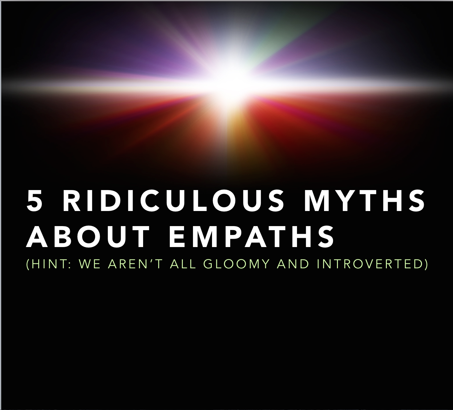 how can an empath protect themselves