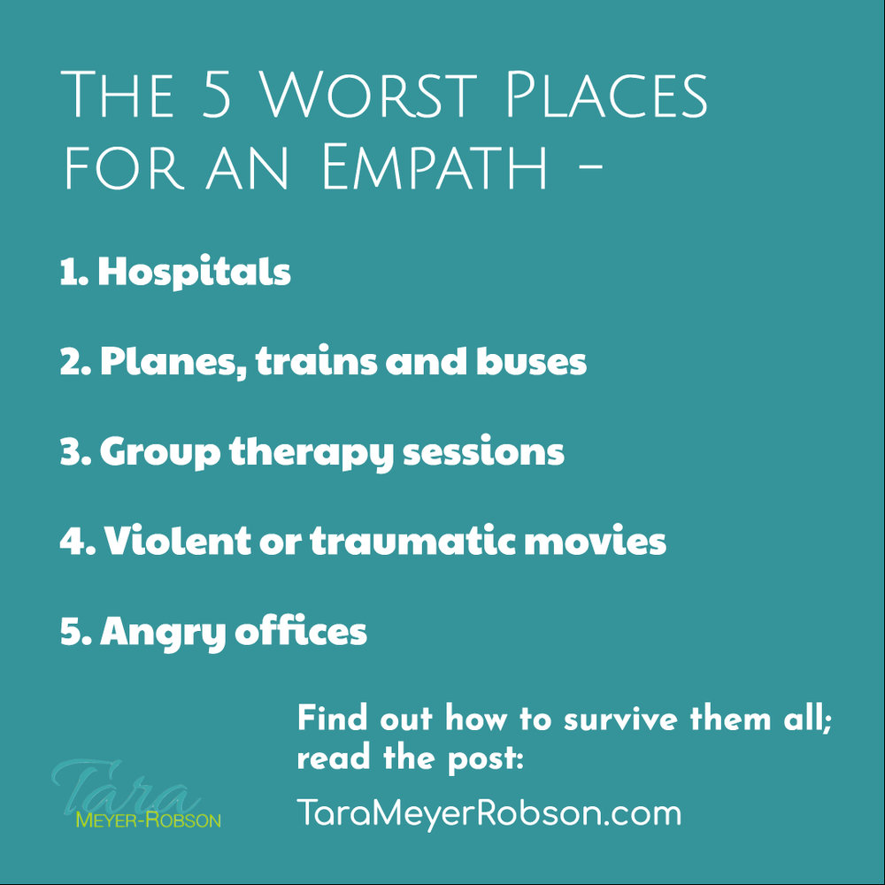the 5 worst places for an empath and how to survive them all