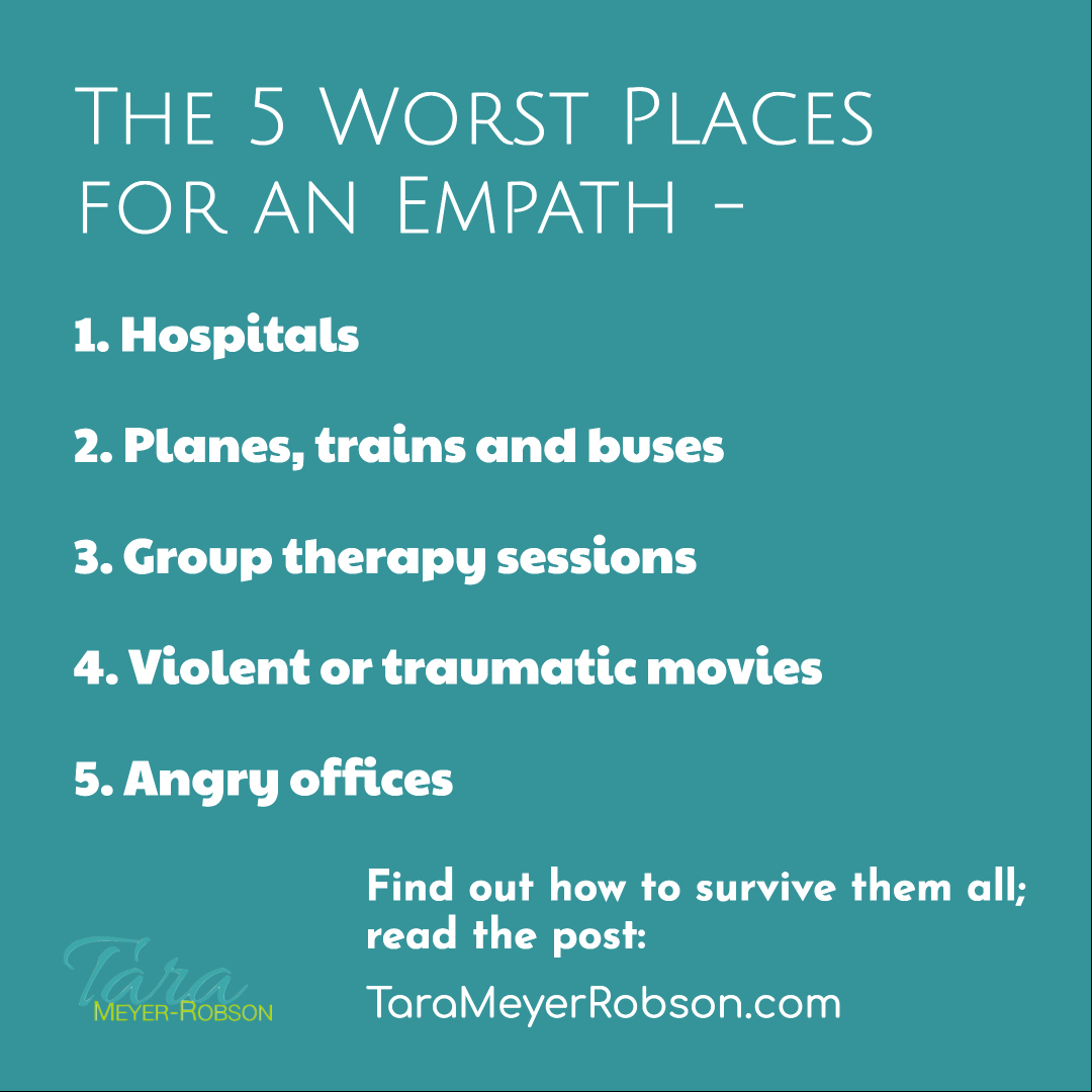 The 5 Worst Places for an Empath - and How to Survive Them