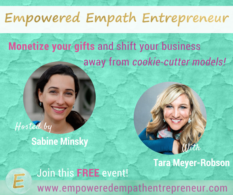 empowered empath entrepreneur summit tara meyer robson