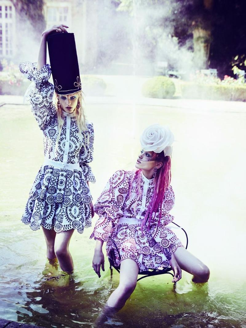 VOGUE JAPAN by Ellen Von Unwerth
