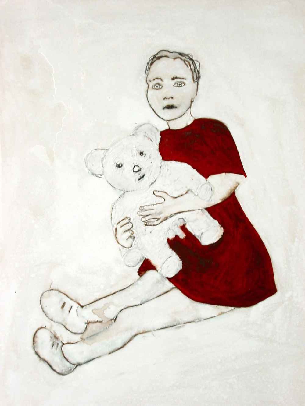 Niña y Oso / Girl with bear,