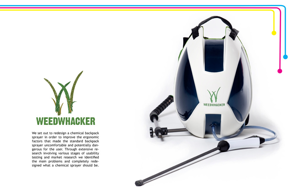 Weedwhaker Chemical Sprayer by Sebastian Campos Moller