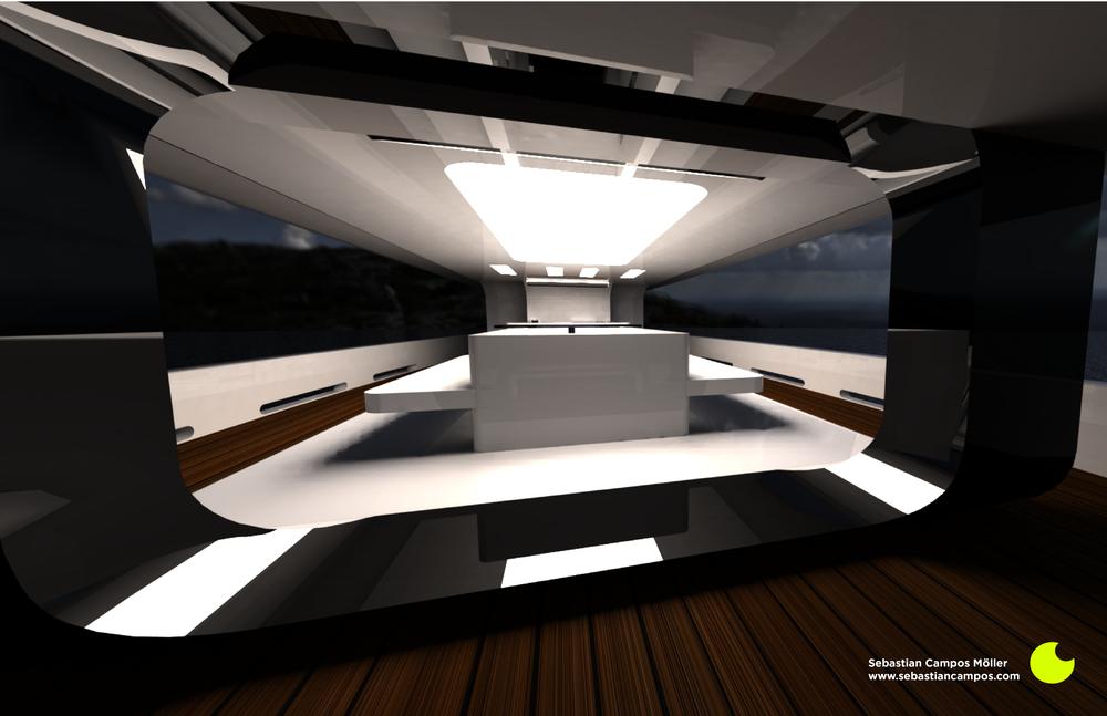 Interior shot 1 by Sebastian Campos Moller