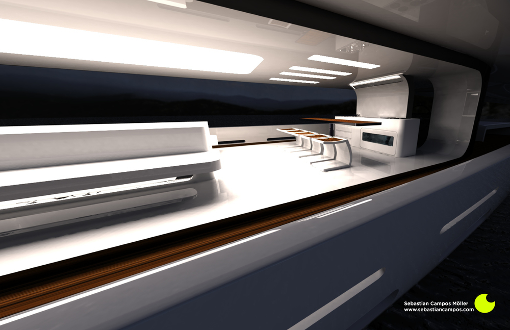 Interior Shot 2 Kitchenette by Sebastian Campos Moller