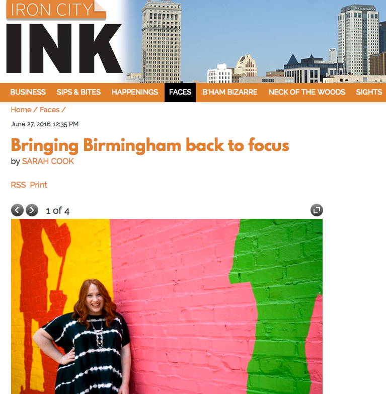 IRON CITY INK - Bringing Birmingham back to focus