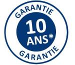 Nos produits Aluminium bénéficient d'une  garantie de 10 ans contre tous vices de fabrication  pour une utilisation normale du produit et  de 2 ans pour les accessoires  à compter de la livraison.  Pour les Automatismes CAME , une garantie de 3 ans  à compter de la livraison.