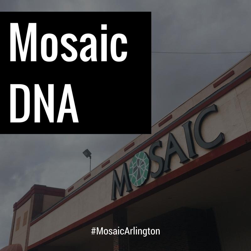 mosaic dna. || August 2011