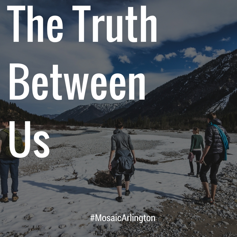 The Truth Between Us || Sep-Oct 2012