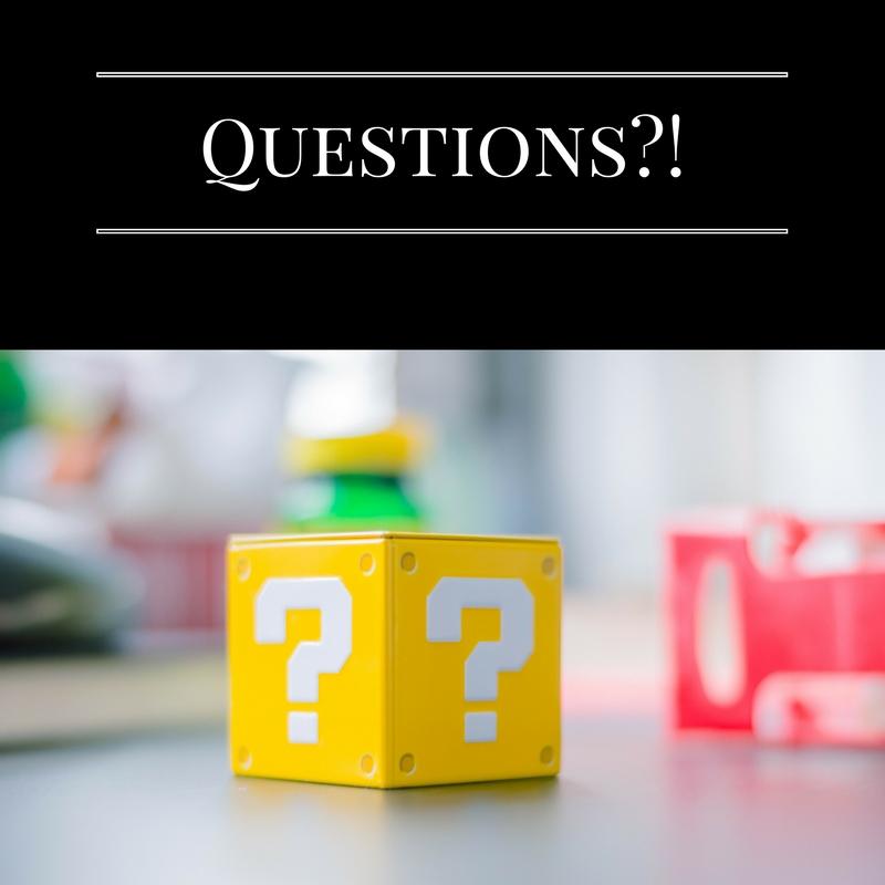 Questions?! || November 2012