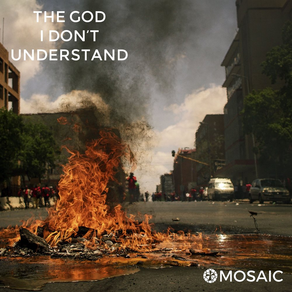 The God I don't understand - april-may 2018