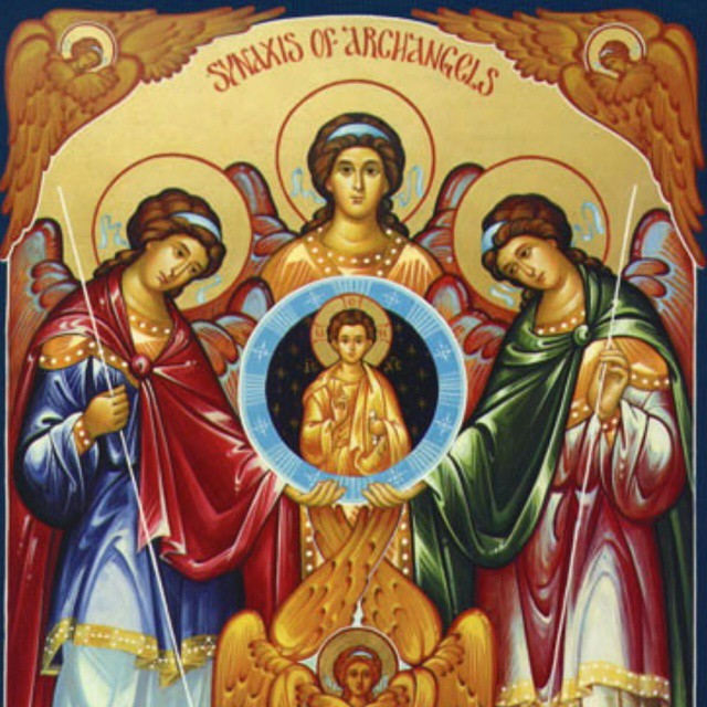 Know that you never walk alone on this journey to holiness. Through struggle, battle and victory. Archangels Michael, Gabriel, and Raphael. Pray for us #catholic #angels #feastday