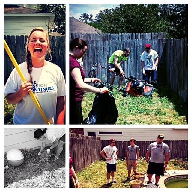 Service Day!! #missionarylife @rdugi @jenmason57