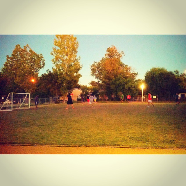 Best part of ministry in the hood.. soccer everyday #rcc #inspire #recreate #missionarylife