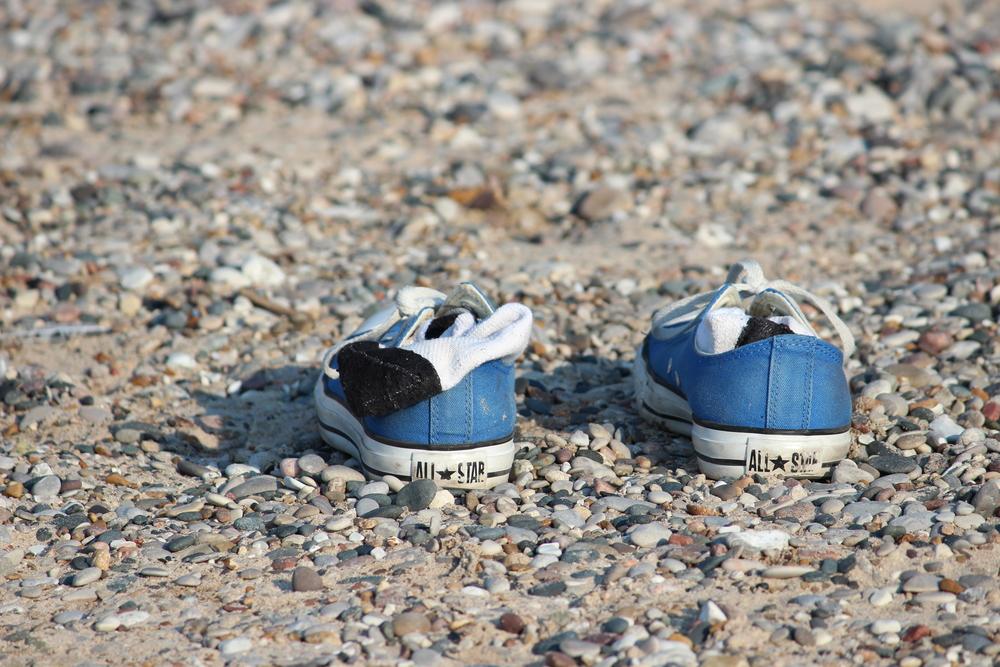 Blue Converse - Lake Huron, Ontario. 2012