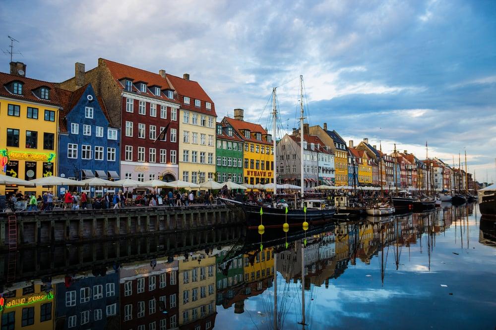 Nyhaven - Copenhagen, DEN