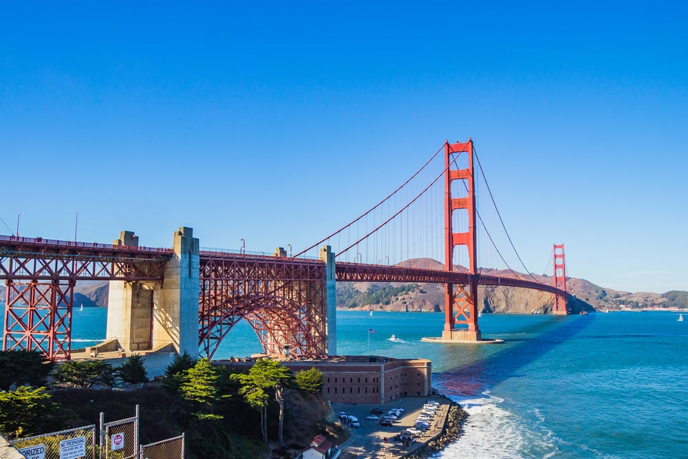 Golden Gate Bridge - San Francisco,CA