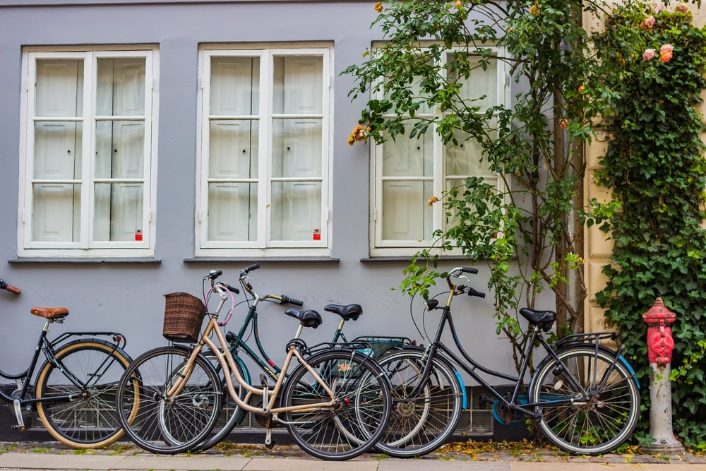 Bikes - Copenhagen, DEN