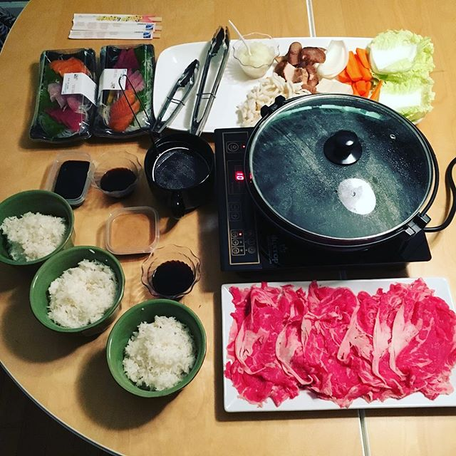 Having a happy shabu shabu Christmas Eve! Happy holidays everybody!