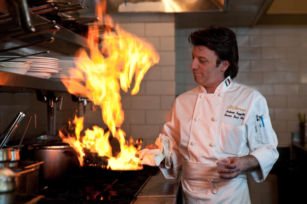 Chef  Antonio Iazzetti