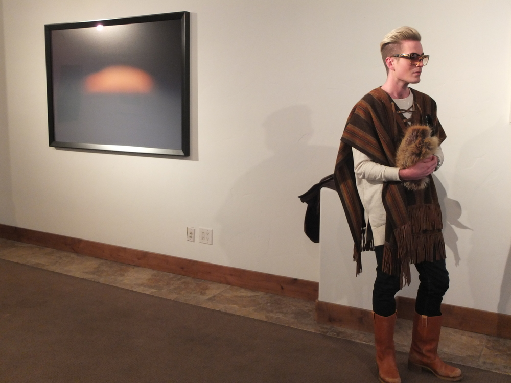 This guy won best outfit at Sundance. Daily.